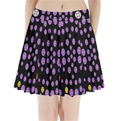 Alphabet Shirtjhjervbret (2)fvgbgnhllhn Pleated Mini Skirt