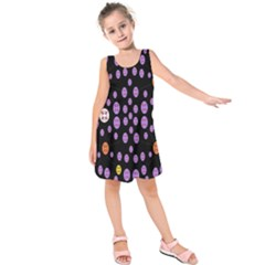 Alphabet Shirtjhjervbret (2)fvgbgnhllhn Kids  Sleeveless Dress