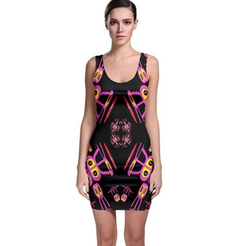 Alphabet Shirtjhjervbret (2)fv Sleeveless Bodycon Dress