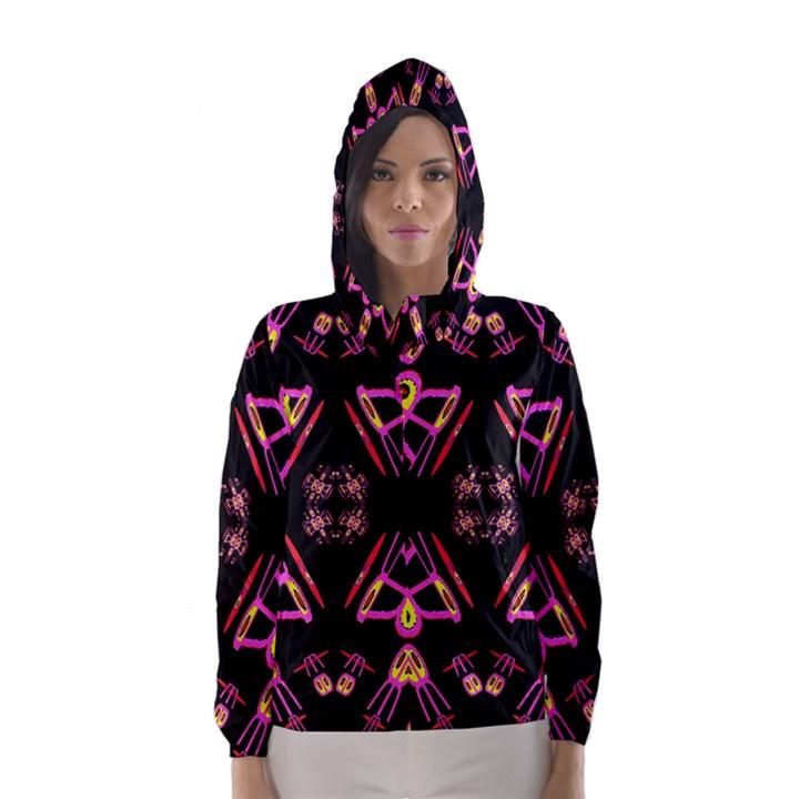 Alphabet Shirtjhjervbret (2)fv Hooded Wind Breaker (Women)