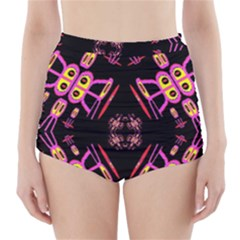 Alphabet Shirtjhjervbret (2)fv High-Waisted Bikini Bottoms