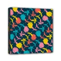 Colorful Floral Pattern Mini Canvas 6  x 6  View1