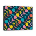 Colorful Floral Pattern Canvas 10  x 8  View1