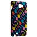 Colorful Floral Pattern Samsung Galaxy Note 1 Hardshell Case View2