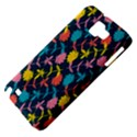 Colorful Floral Pattern Samsung Galaxy Note 1 Hardshell Case View4