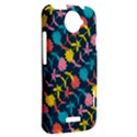 Colorful Floral Pattern HTC One X Hardshell Case  View2