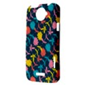 Colorful Floral Pattern HTC One X Hardshell Case  View3
