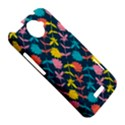 Colorful Floral Pattern HTC One X Hardshell Case  View5