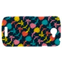 Colorful Floral Pattern HTC One S Hardshell Case  View1