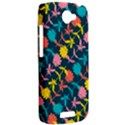Colorful Floral Pattern HTC One S Hardshell Case  View2