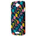 Colorful Floral Pattern HTC One S Hardshell Case  View3