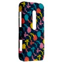 Colorful Floral Pattern HTC Evo 3D Hardshell Case  View2