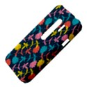 Colorful Floral Pattern HTC Evo 3D Hardshell Case  View4