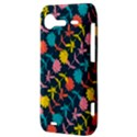 Colorful Floral Pattern HTC Incredible S Hardshell Case  View3