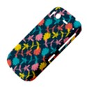 Colorful Floral Pattern HTC Desire S Hardshell Case View4