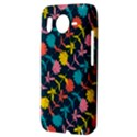 Colorful Floral Pattern HTC Desire HD Hardshell Case  View3