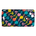 Colorful Floral Pattern Sony Xperia Arc View1