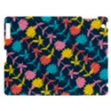 Colorful Floral Pattern Apple iPad 3/4 Hardshell Case View1