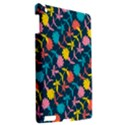 Colorful Floral Pattern Apple iPad 3/4 Hardshell Case View2