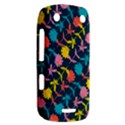 Colorful Floral Pattern BlackBerry Curve 9380 View2