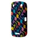Colorful Floral Pattern BlackBerry Curve 9380 View3