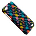 Colorful Floral Pattern HTC One V Hardshell Case View5