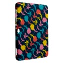 Colorful Floral Pattern Samsung Galaxy Tab 8.9  P7300 Hardshell Case  View2