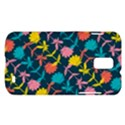 Colorful Floral Pattern Samsung Galaxy S II Skyrocket Hardshell Case View1