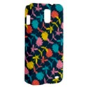 Colorful Floral Pattern Samsung Galaxy S II Skyrocket Hardshell Case View2