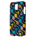 Colorful Floral Pattern Samsung Galaxy S II Skyrocket Hardshell Case View3