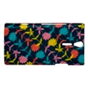 Colorful Floral Pattern Sony Xperia S View1