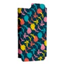 Colorful Floral Pattern Apple iPhone 5 Hardshell Case (PC+Silicone) View2