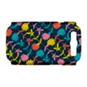 Colorful Floral Pattern Samsung Galaxy S III Hardshell Case (PC+Silicone) View1