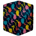 Colorful Floral Pattern Apple iPad 2 Flip Case View4