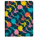 Colorful Floral Pattern Apple iPad Mini Flip Case View1