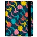 Colorful Floral Pattern Apple iPad Mini Flip Case View2