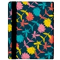 Colorful Floral Pattern Apple iPad Mini Flip Case View3