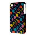 Colorful Floral Pattern Apple iPhone 3G/3GS Hardshell Case (PC+Silicone) View3