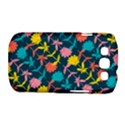 Colorful Floral Pattern Samsung Galaxy S III Classic Hardshell Case (PC+Silicone) View1