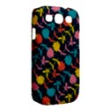 Colorful Floral Pattern Samsung Galaxy S III Classic Hardshell Case (PC+Silicone) View2