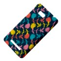 Colorful Floral Pattern HTC One SU T528W Hardshell Case View4