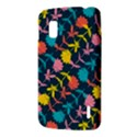Colorful Floral Pattern LG Nexus 4 View3