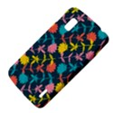 Colorful Floral Pattern LG Nexus 4 View4