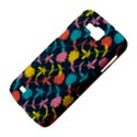 Colorful Floral Pattern Samsung Galaxy Premier I9260 Hardshell Case View4