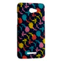Colorful Floral Pattern HTC Butterfly X920E Hardshell Case View2