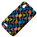 Colorful Floral Pattern HTC Desire V (T328W) Hardshell Case View4