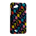Colorful Floral Pattern HTC Desire VC (T328D) Hardshell Case View2