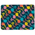 Colorful Floral Pattern Samsung Galaxy Tab 7  P1000 Flip Case View1