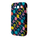 Colorful Floral Pattern Samsung Galaxy Grand DUOS I9082 Hardshell Case View3