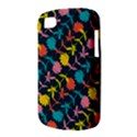 Colorful Floral Pattern BlackBerry Q10 View3